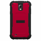 Samsung Galaxy S4 Active Trident Cyclops Series Case - Red/Black