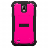 Samsung Galaxy S4 Active Trident Cyclops Series Case - Hot Pink/Black