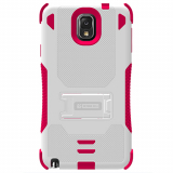 Samsung Galaxy Note 3 TriShield Case - White/Hot Pink