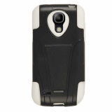 Samsung Galaxy S4 Mini Dual Case - Black/White