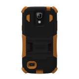Samsung Galaxy S4 Mini TriShield Case - Black/Brown