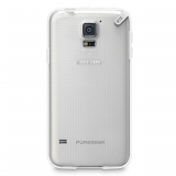 Samsung Galaxy S5 Pure Gear Slim Shell Case - Clear/White