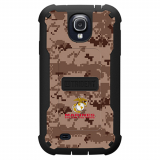 Samsung Galaxy S4 Trident Cyclops Series Case - US Marines Camo