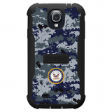 Samsung Galaxy S4 Trident Cyclops Series Case - US Navy Camo