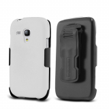Samsung Galaxy S3 Mini Beyond Cell Kombo Case - White