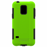 Samsung Galaxy S5 Mini Trident Aegis Series Case - Lime Green/Black