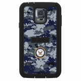 Samsung Galaxy S5 Tridnet Cyclops Series Case - US Navy Camo