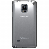 Samsung Galaxy Note 4 PureGear Slim Shell Case - Clear/Black