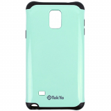 Samsung Galaxy Note 4 TekYa Capella Series Case - Mint Green/Black
