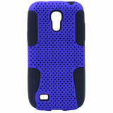 Samsung Galaxy S4 Mini TekYa Mesh Case - Blue/Black