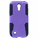 Samsung Galaxy S4 Mini TekYa Mesh Case - Purple/Black