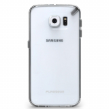 Samsung Galaxy S6 PureGear Slim Shell Case - Clear/Clear