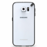 Samsung Galaxy S6 PureGear Slim Shell Case - Clear/Black