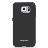 Samsung Galaxy S6 PureGear Slim Shell Case - Black/Black