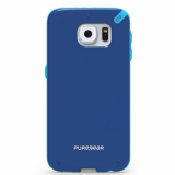 Samsung Galaxy S6 PureGear Slim Shell Case - Pacific Blue