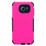 Samsung Galaxy S6 Trident Aegis Series Case - Hot Pink/Black