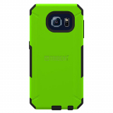 Samsung Galaxy S6 Trident Aegis Series Case - Lime Green/Black