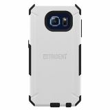 Samsung Galaxy S6 Trident Aegis Series Case - White/Black