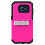Samsung Galaxy S6 Trident Kraken AMS Series Case - Hot Pink/Black