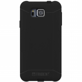 Samsung Galaxy Alpha Trident Aegis Series Case - Black/Black
