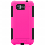 Samsung Galaxy Alpha Trident Aegis Series Case - Hot Pink/Black