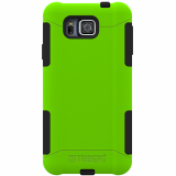 Samsung Galaxy Alpha Trident Aegis Series Case - Lime Green/Black