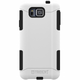 Samsung Galaxy Alpha Trident Aegis Series Case - White/Black