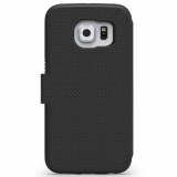 Samsung Galaxy S6 Edge PureGear Express Folio Case - Black