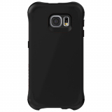 Samsung Galaxy S6 Edge Ballistic Urbanite Series Case - Black/Black