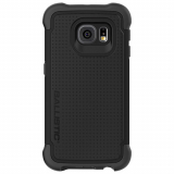 Samsung Galaxy S6 Edge Ballistic Tough Jacket Series Case - Black/Black
