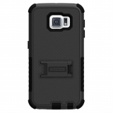 Samsung Galaxy S6 Beyond Cell Tri Shield Case - Black/Black
