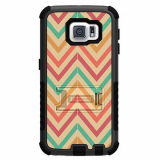 Samsung Galaxy S6 Beyond Cell Tri Shield Case - Pastel Chevron