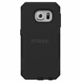 Samsung Galaxy S6 Edge Trident Aegis Series Case - Black/Black