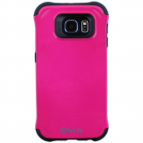 Samsung Galaxy S6 TekYa Capella Series Case - Hot Pink/Black
