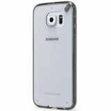 Samsung Galaxy S6 PureGear Slim Shell Pro Case - Clear/Light Gray