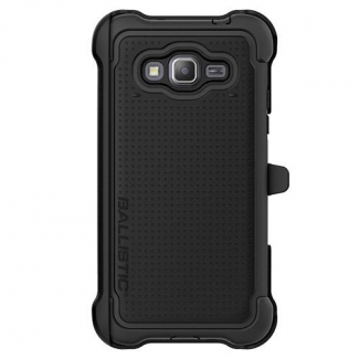 Samsung Galaxy Grand Prime Ballistic TJ Maxx Series Case - Black/Black