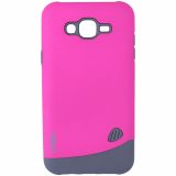 Samsung Galaxy J7 Skech Bounce Series Case - Pink/Gray