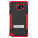 Samsung Galaxy Note 5 Beyond Cell Tri Shield Case - Black/Red
