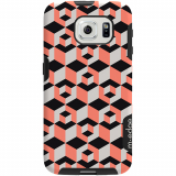Samsung Galaxy S6 M-Edge Glimpse Series Case - Cubed