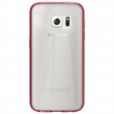 Samsung Galaxy S7 Edge Skech Crystal Series Case - Clear/Pink