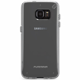 Samsung Galaxy S7 Edge PureGear Slim Shell Series Case - Clear/Clear