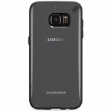 Samsung Galaxy S7 Edge PureGear Slim Shell Series Case - Clear/Black