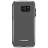 Samsung Galaxy S7 Edge PureGear Slim Shell Pro Series Case - Clear/Light Gray