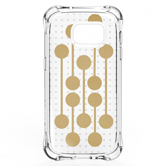 Samsung Galaxy S7 Ballistic Jewel Mirage Series Case - Retro Gold