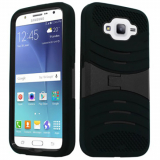 Samsung Galaxy J7 Kickster Case - Black/Black *iWireless Only*