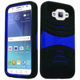 Samsung Galaxy J7 Kickster Case - Black/Blue *iWireless Only*