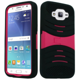 Samsung Galaxy J7 Kickster Case - Black/Pink *iWireless Only*