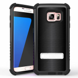 Samsung Galaxy S7 Beyond Cell Tri Shield Case - Carbon Fiber