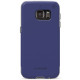 Samsung Galaxy S7 Edge PureGear DualTek Pro Series Case - Blue/Clear