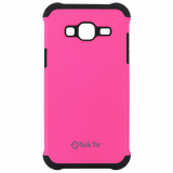 Samsung Galaxy J3 TekYa Rigel Series Case - Pink/Black